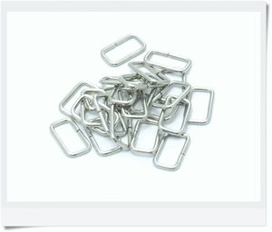 Rectangular nickel ring 20x8mm