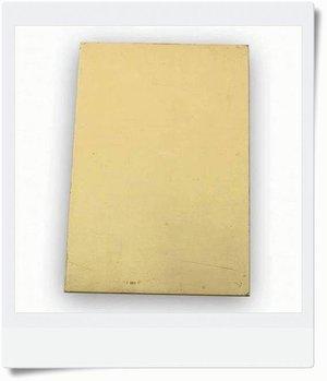 Sheet brass 1,0 mm