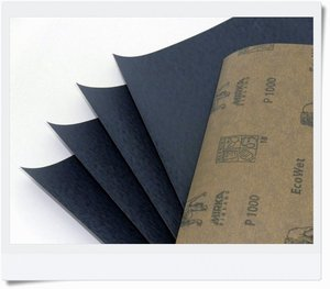 Wet sanding paper, grit 1500