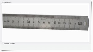Steel ruler 150 mm