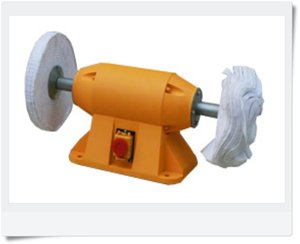 Grinding, drilling and polishing machine