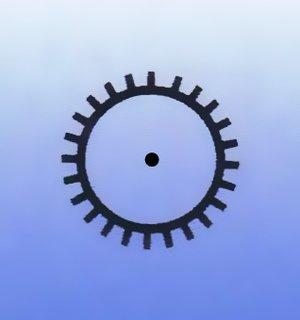 Rasp, round, pointy, 1,5-3,5mm