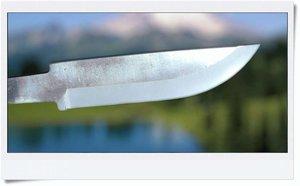 Carbonsteel blade 75x18x2,5