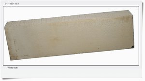 White holly, 132x41x24 mm, 100 g
