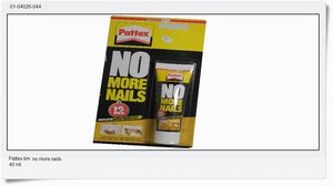 "Pattex, ""no more nails"", 40ml"