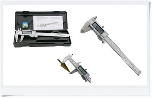 Digital Vernier Caliper 150mm in stainless steel