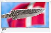 "Polished ""raw forging"",  68x20x3mm"