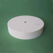 Felt wheels Ø100 mm x 25 mm